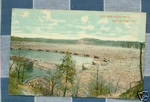Old Postcard - Log Jam - Dells Pond - Eau Claire WI   eBay