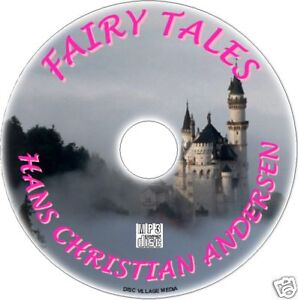 FAIRY-TALES-HANS-CHRISTIAN-ANDERSEN-MP3-CD-AUDIO-BOOK-CLASSIC-KIDS-STORIES-NEW