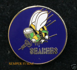 US-NAVY-SEABEES-WWII-SEABEE-USN-HAT-PIN-SEA-BEE-USS-BADGE-CONSTRUCTION-MCB