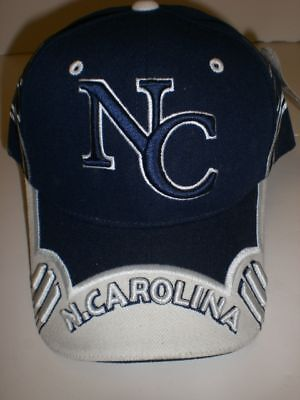 North Carolina Dark Blue/ White Baseball Cap