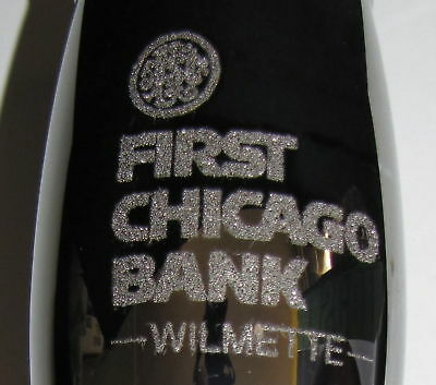 1st Chicago Bank Wilmette 25th Loyola Ramble 1994 Metallic Finish Wine Glass