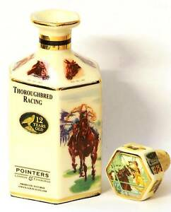 Horse-Racing-Miniature-Whisky-Decanter-collectable-NEW