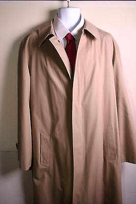 Mens Roundtree & Yorke Rain Jacket Coat Size 42r Regular