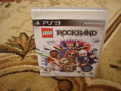 Lego Rock Band (playstation 3, 2009)