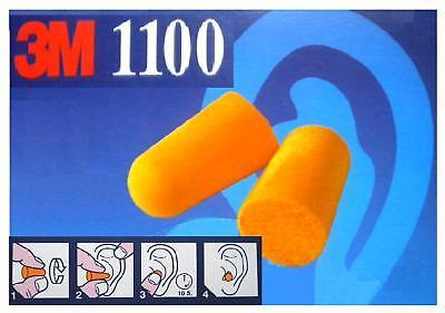 100 Stück 50 Paar 3M Gehörschutz Ohrstöpsel 37dB NEU