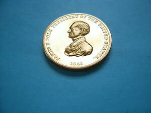 JAMES POLK USPS POST STAMP COMMEMORATIVE 999 SILVER COIN RARE COOL ITEM