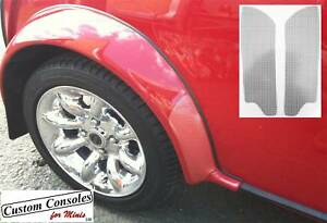 Mini Parts - Sports Pack Wheel Arch Protection Panels  CLEAR