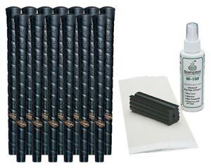 13-Lamkin-Perma-Wrap-Midsize-Golf-Grips-Free-Grip-Kit