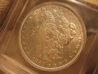 CH/GEM BU R6 VAM 39A 1880 MORGAN SILVER DOLLAR UNITED STATES COIN   HOT 50