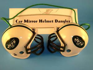 CAR-MIRROR-NFL-FOOTBALL-HELMET-DANGLER-NEW-YORK-JETS