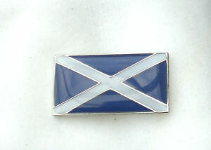 SCOTTISH FLAG - ENAMEL PIN BADGE