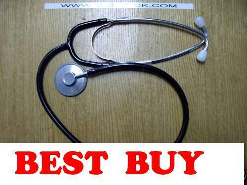 Stethoscope- Black tubing.  $4.85