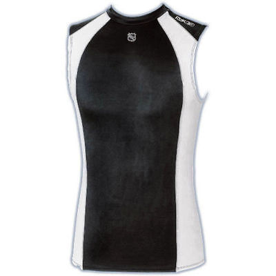 Rbk Platinum Stretch Mesh Sleeveless Hockey Shirt Med