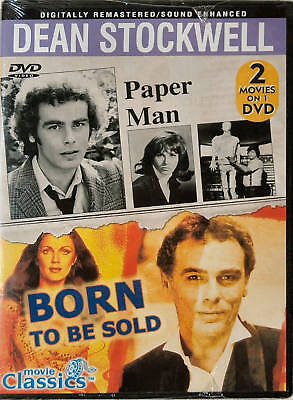 PAPER MAN & BORN TO BE SOLD - Dean Stockwell - NEW DVD on Rummage