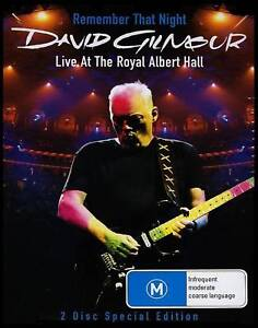 DAVID-GILMOUR-REMEMBER-THAT-NIGHT-LIVE-ROYAL-ALBERT-DVD-PINK-FLOYD-NEW