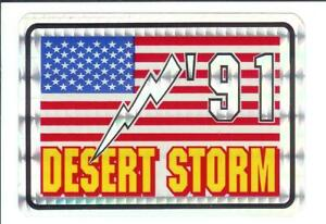 Desert-Storm-U-S-Military-Vintage-Sticker-Decal-Rare-3