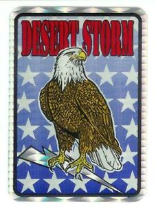 Desert-Storm-U-S-Military-Vintage-Sticker-Decal-Rare-4