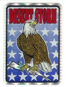 Desert-Storm-U-S-Military-Vintage-Sticker-Decal-Rare-4
