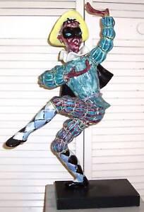 Antique-Italian-Jester-Figurine-Otello-Rosa-For-San-Polo-Venezia-Wow