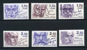 SERIE-TIMBRES-2355-2360-NEUF-XX-LUXE-PERSONNAGES
