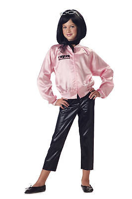 50S Grease Pink Ladies Jacket Only Child Costume