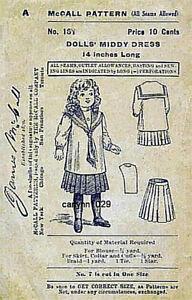 Antique-1901-14-Dolls-Sailor-Dress-Pattern