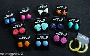 New-NYLON-earrings-NO-METAL-can-be-used-for-Soccer-or-Medical