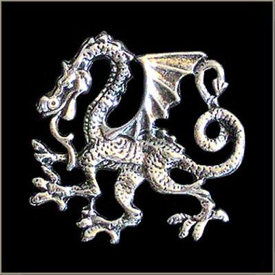 Chinese Dragon Biker Pin