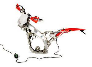 dual sport supermoto wire harness lighting kit ac or dc ebay. Black Bedroom Furniture Sets. Home Design Ideas