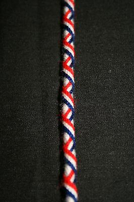 Bracelet Brésilien-DRAPEAU DE LA FRANCE /16cm /Unitaire