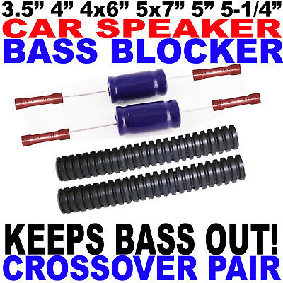 Bass Blockers Crossovers For 3.5 4 Or 4x6 Speakers