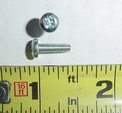 1000 Ea M3.5-.6 X 12 Mm Phillips Pan Head Screws Zinc