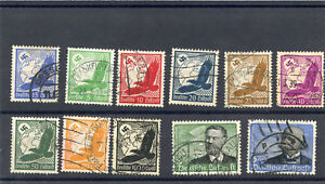 GERMANY Sc C46-56(MI 529x-39x)F-VF USED $140