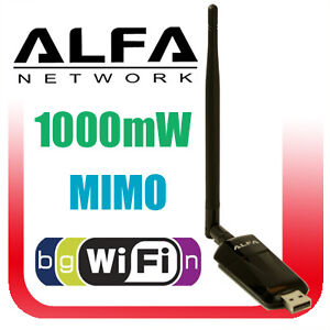 ALFA-AWUS036NEH-1W-WIRELESS-802-11n-WiFi-USB-Adapter