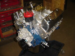Ford 351w efi crate windsor hot street engine 350 hp 383 for Crate motors ford f150