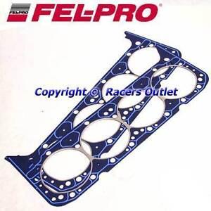 2-Fel-Pro-1003-Head-Gaskets-sb-Chevy-327-350-383-Performance-Cylinder-sbc