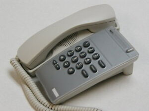 NEC DTR-1-1 SINGLE LINE PHONE WHITE (Part # 780021) NEW