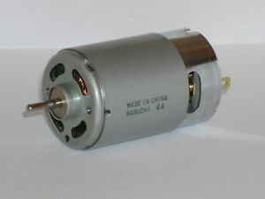 NEW MABUCHI LARGE HIGH TORQUE MOTOR / GENERATOR 12V 5500RPM