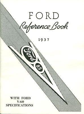 1937 Ford V-8 Passenger Car Owner's Manual