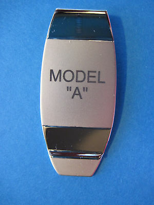 MODEL A  -  money clip - (stacked lettering) ORIGINAL BOX
