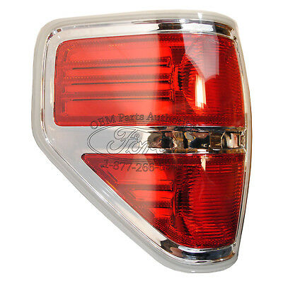 2009-2011 Ford F-150 Xlt Chrome Left Tail Lamp on Sale