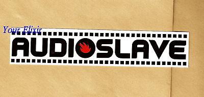 Audioslave Cornell Rage Against Helmet White 1x6 Board Music Sticker