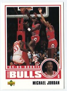 Michael-Jordan-Chicago-Bulls-Rookie-98-Basketball-Card