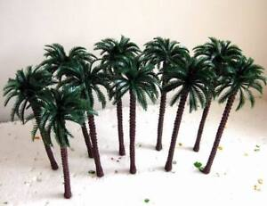 TDT13 20pcs Layout Model Train Palm Trees Scale HO 13CM