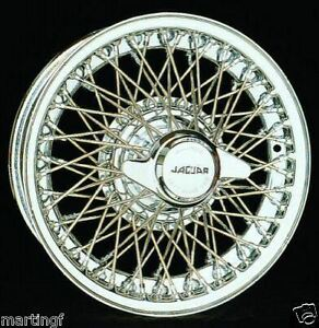 Jaguar-XKE-MKII-Dayton-Chrome-Tubeless-Wire-Wheels