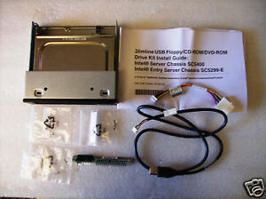 Intel-AXXCDUSBFDBRK-5-25-Slim-Line-Optical-Floppy-Kit