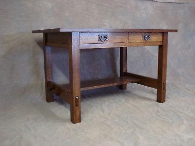 Reproduction Stickley 675 Desk Mission Arts & Crafts