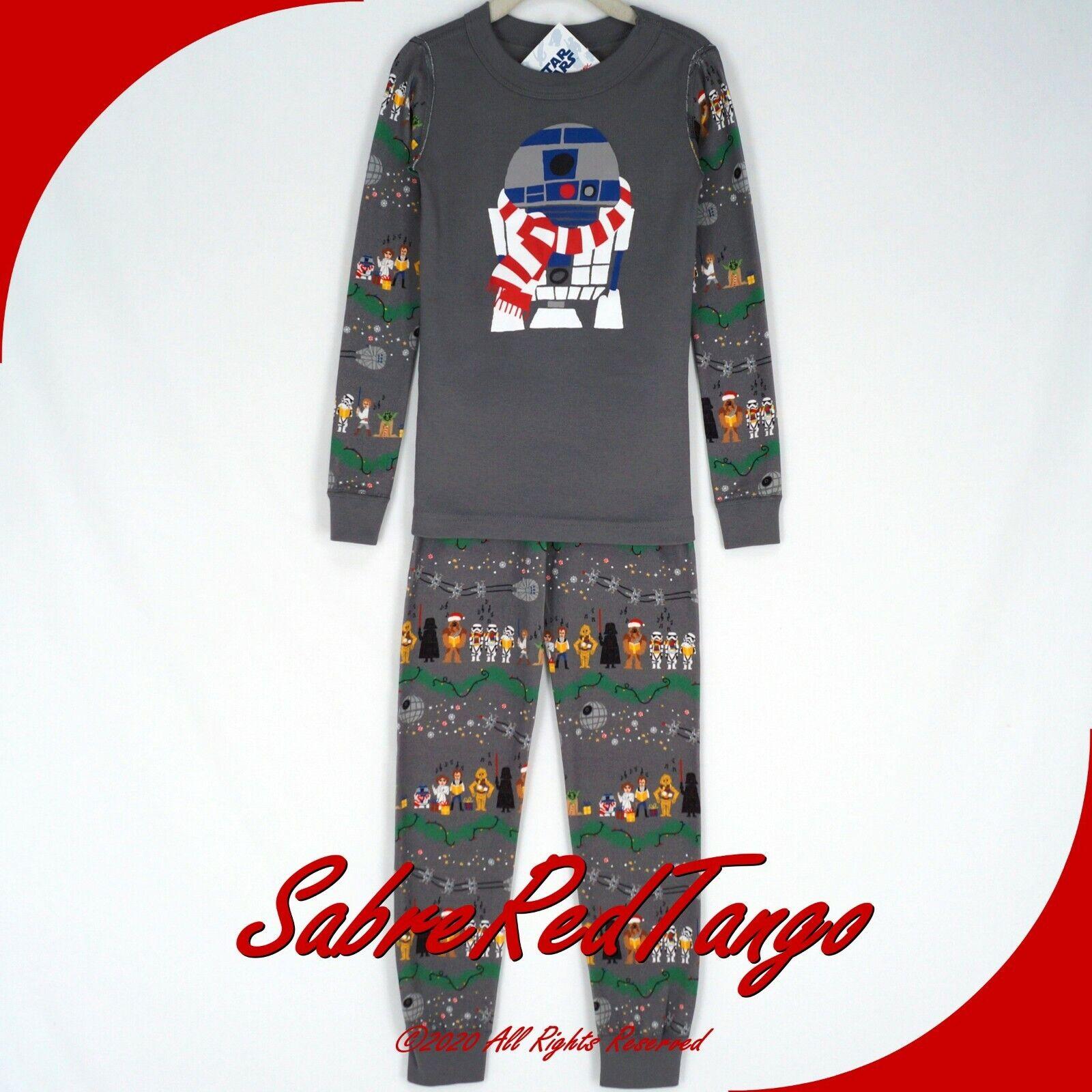 NWT Hanna Andersson Pineapple Organic Cotton Long Johns Pajamas sz 120