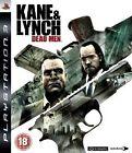 Kane & Lynch: Dead Men (Sony PlayStation 3, 2007)