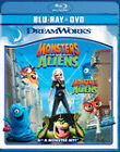 Monsters vs. Aliens (Blu-ray/DVD, 2010, 2-Disc Set, Canadian)